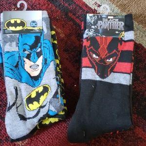 NWT marvel socks